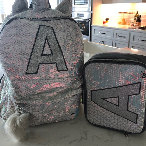 Handbags - Justice girls backpack and lunch bag flip sequin 0f9c35ff4b225